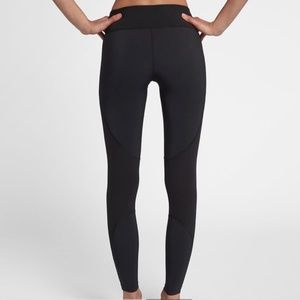Hurley Black Long Leggings Tights Yoga Gym Workout